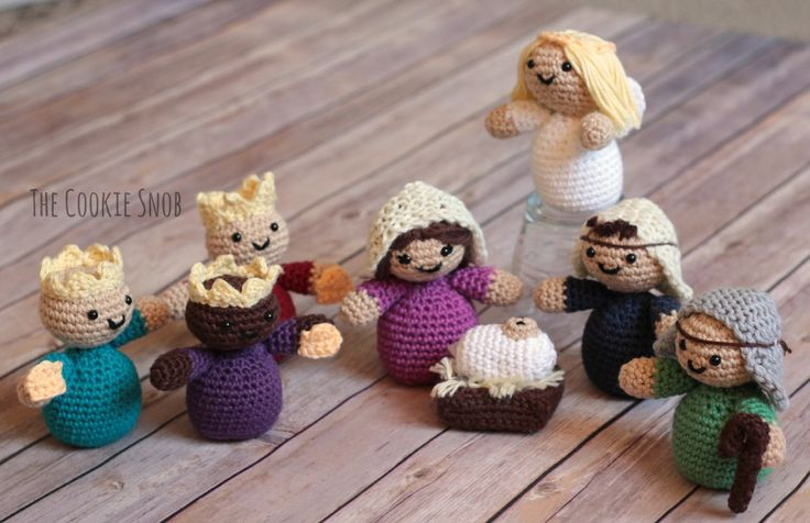Crochet Patterns Nativity Scene : Crochet Nativity Crochet gifts and toys Pinterest ...