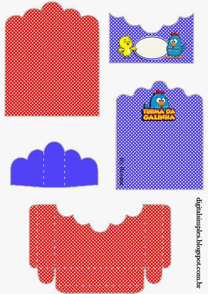Lottie Dottie Chicken: Free Printable Candy Packages Support.