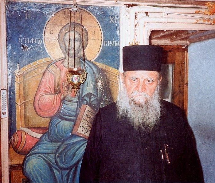 Ο γέρων Χαράλαμπος (Μονή Διονυσίου, Άγιο Όρος)- The elder Charalampos (Dionysiou Monastery, Mount Athos)