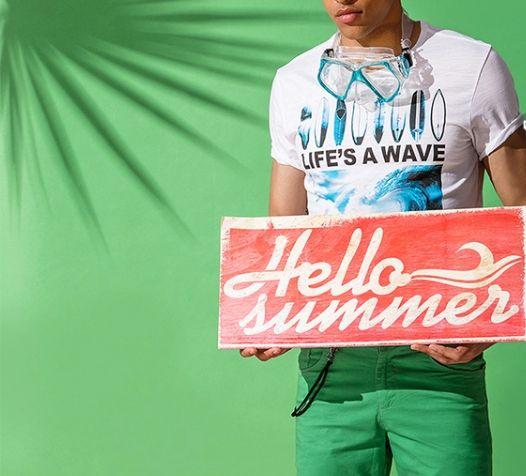 Hello Summer - moda męska na lato! Stylowe męskie stylizacje Top Secret