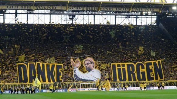 Borussia Dortmund Der Emotionale Abschied Von Jurgen Klopp Borussia Dortmund Dortmund Borussia