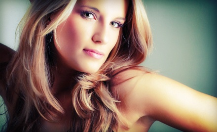 Cut, Style, and Blow-Dry with Hair and Scalp Treatment and Highlight Options at La Rouge Hair & Spa (Up to 62% Off)