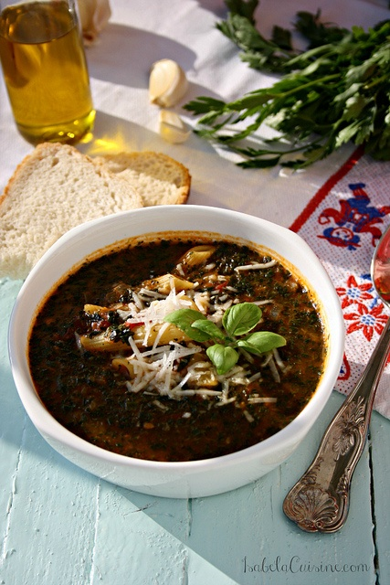 Easy Tomato Florentine Soup   IsabelaCuisine.com   Pinterest
