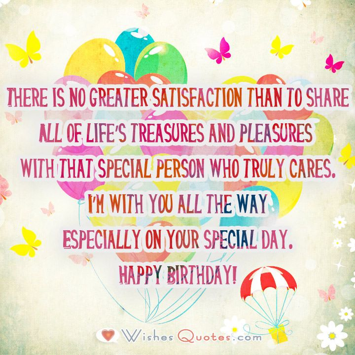 Image with Romantic Birthday Wishes