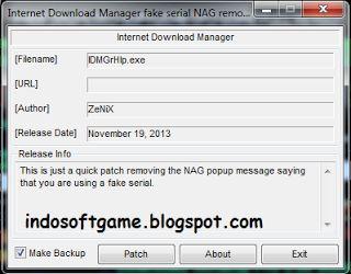 Cara Mengatasi Pop-Up Fake Serial Number Pada Internet Download Manager ( IDM )