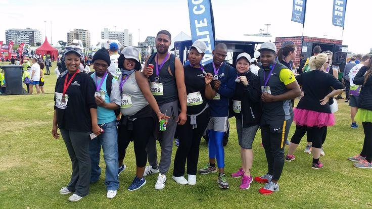 The Revelstone Team for the Gun Run 5 km run 2017.