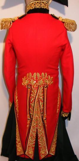 "Parade jacket of"" colonel aide de camps du marechal Berthier"" back"