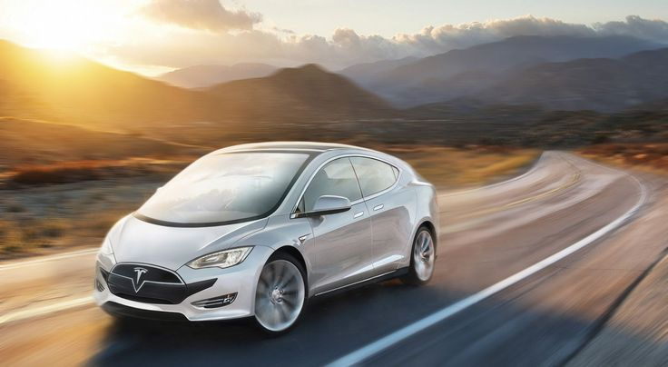 2016 Tesla range by carwow: includes hypercar, pickup truck, and city car