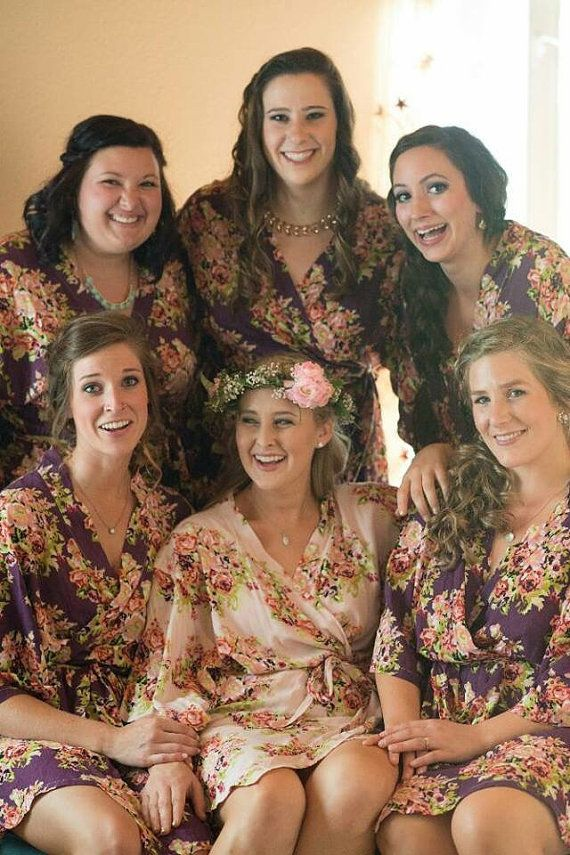 personalized robes unusual bridesmaid gifts silk by ForBride