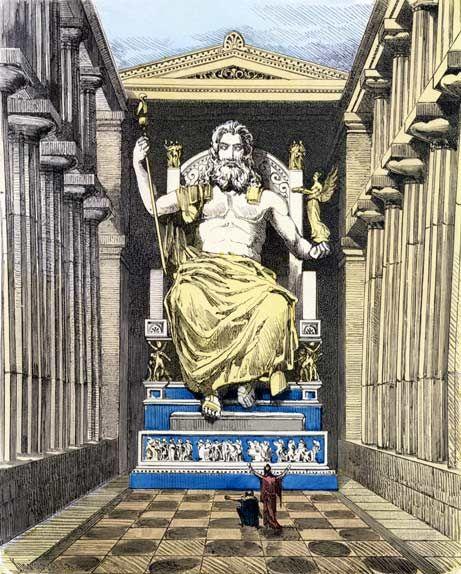 Img - Estátua de Zeus | Qualquer semelhança é mera coincidência. (G. Washington, Baphomet) Será?