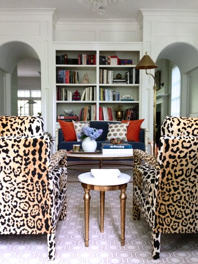 My Favorite Leopard Fabric