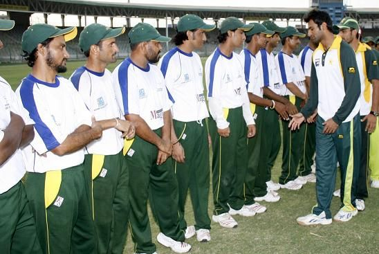 Disabled Players with Shoaib Malik