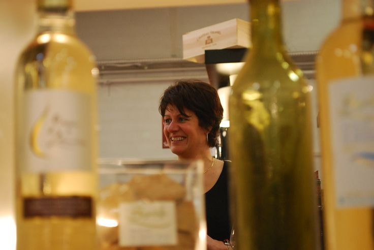 VINISUD 2014. Christine Deleuze of Clos Bagatelle on a very busy Monday. #ViniSud