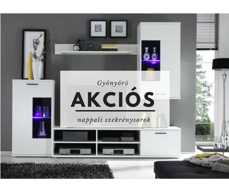 Válassz gyönyörű, akciós nappali szekrénysoraink közül :3 #szekrény #akciósszekrény #szekrénysor #butorunvierzum #nappali #nappalibútor