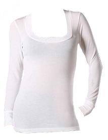 White long sleeve top - $23