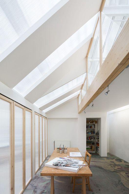 La luz cenital como solución de iluminación natural en 17 proyectos,© Svend Andersen