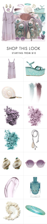 """The Ocean's Art"" by barbmama ❤ liked on Polyvore featuring Massimo Lonardo, Chantecaille, Laura Mercier, NARS Cosmetics, Kala, Seaman Schepps, Heidi London, BillyTheTree and Phillip Gavriel"