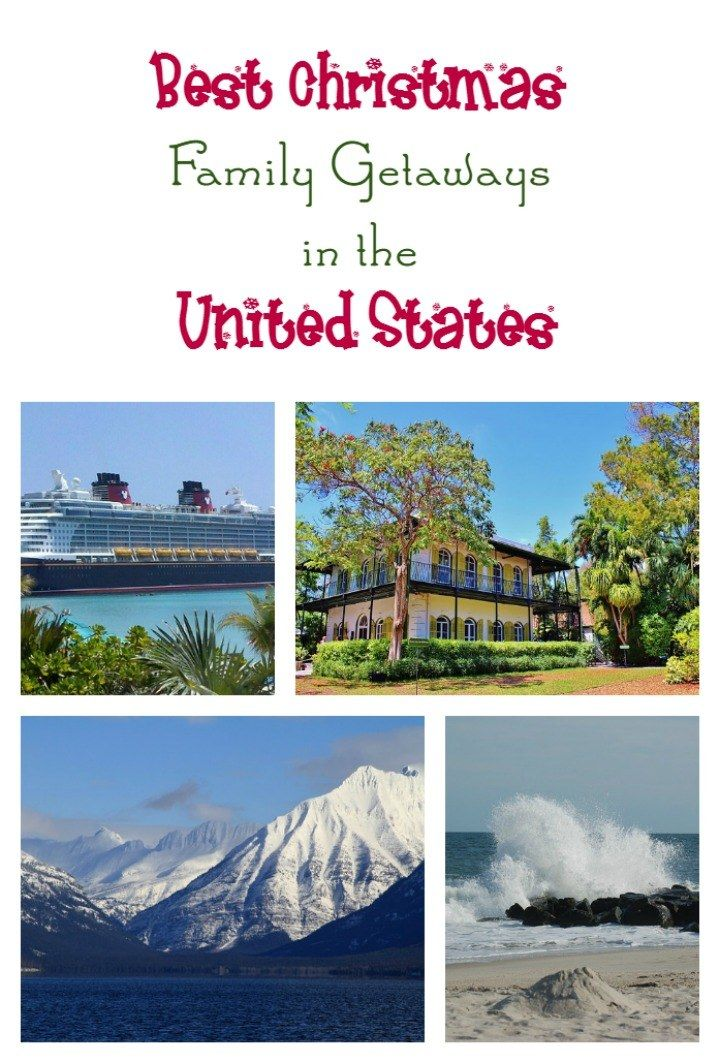 2829 best family vacations images on pinterest family for Best christmas travel destinations united states