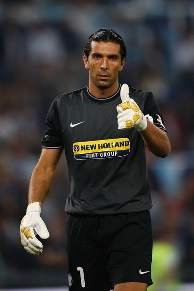 Gianluigi Buffon. My inspiration. My role model!  I love him. He is amazing!!!!!!!!!!!!!