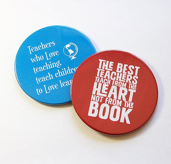 Teacher Coasters, Gift for Teacher, Set of Coasters, Drink Coasters, Coasters, Back to School, Blue, Red, Teacher thank you (5130)