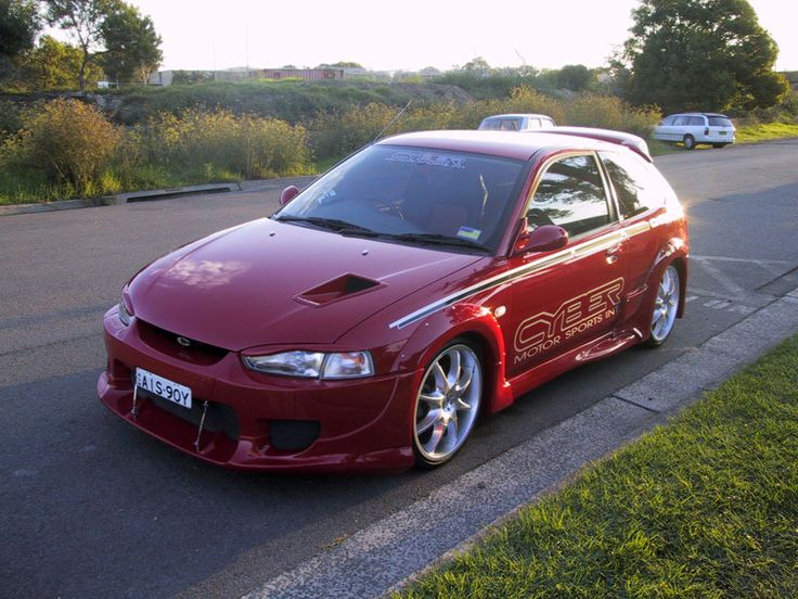 95-03 Mitsubishi Lancer Mirage - CYBER Motorsports Wide body Complete Kit