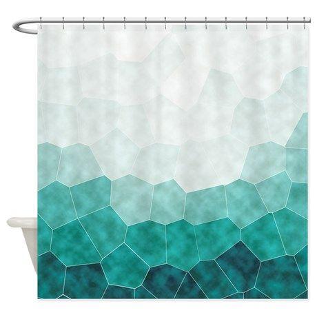 Ponad 1000 Pomyslow Na Temat Teal Shower Curtains Na