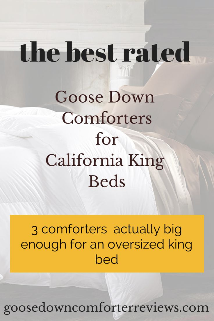 Top 3 California King Down Comforters - The Best Rated Comforters For Oversized King Beds - http://goosedowncomforterreviews.com/best-of-lists/top-3-california-king-down-comforters-the-best-rated-comforters-for-oversized-king-beds/ #comforters  best down duvet reviews, daniadown, extra warm goose feather comforter, highland feather, pacific coast light duvets reviews, summer down duvets Best Of Lists, Featured