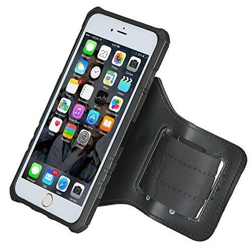 iPhone 7 Armband iPhone 6s/6 Armband Amuoc Sport Running Armband Sweatproof Case with Premium Flexible Case Combo for iPhone 7/6s/6