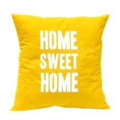 Home sweet home handmade cushion cover