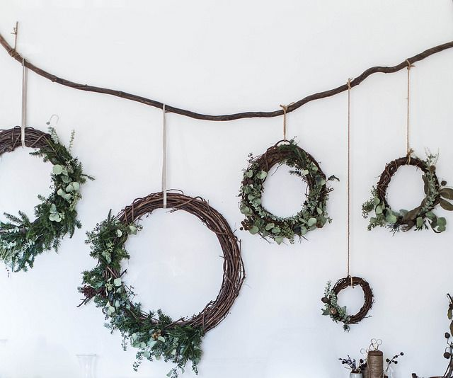 Local Milk | merry & bright | gingerbread sorghum cake + diy wreaths & muslin wrapping