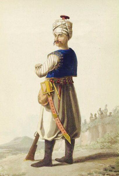 "The Janissaries (Ottoman Turkish: يڭيچرى yeniçeri, meaning ""new soldier"") were elite infantry units that formed the Ottoman Sultan's household troops and bodyguards."