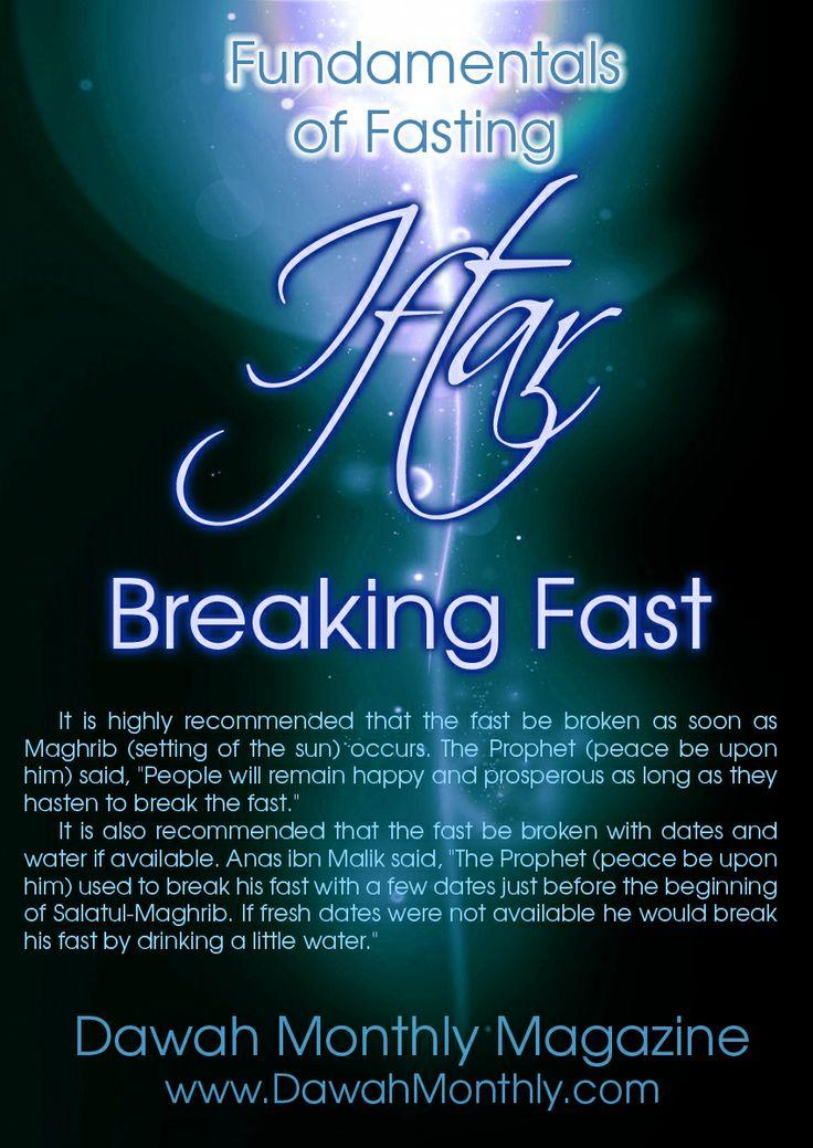 Iftar - Breaking Fast