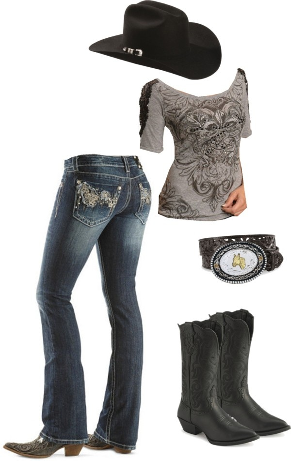 """Cowgirl Spirit"" by cj98girl on Polyvore"