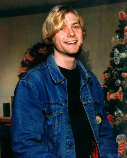 Kurt Cobain 1986