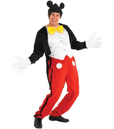 Mickey Mouse kostuum voor volwassenen. Leuk Mickey Mouse kostuum dat bestaat uit een jumpsuit met jasje, de handschoenen en het hoofdstuk. Ga origineel verkleed met de Carnaval!