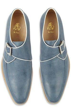 Nice pale blue shoes
