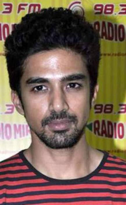 Saqib Saleem at Radio Mirchi 98.3 FM studio in March 2013...