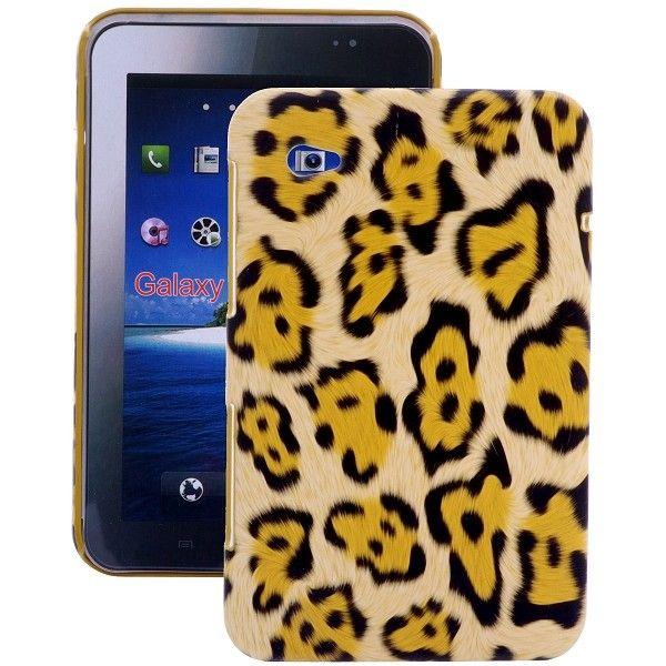 Leopard (Gul) Samsung Galaxy Tab P1000 Deksel
