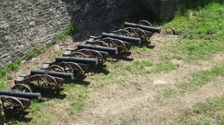 Cannons by  Emil Langhe  on @deviantART Location:Suceava Stronghold