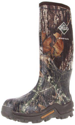The Original Muckboots Adult Woody Elite Boot Mossy Oak