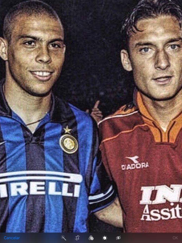 Ronaldo y Toti, dos grandísimos cracks.