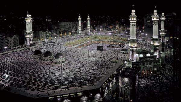 Kaaba, Mecca, Saudi Arabia.