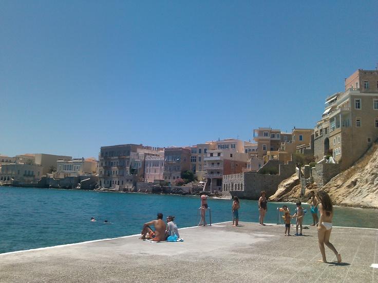 Syros island, Vaporia, GREECE