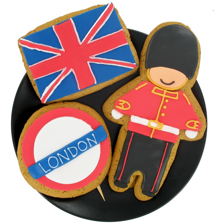 Absolutely love these British themed cookies