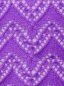 Knit the Ajour pattern