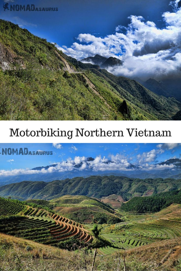 Motorbiking in Vietnam has become a popular activity when backpacking in Southeast Asia. But most people miss out on travelling to Northern Vietnam. A shame, because it is the most beautiful part of the country. #vietnam #motorbiking #southeastasia