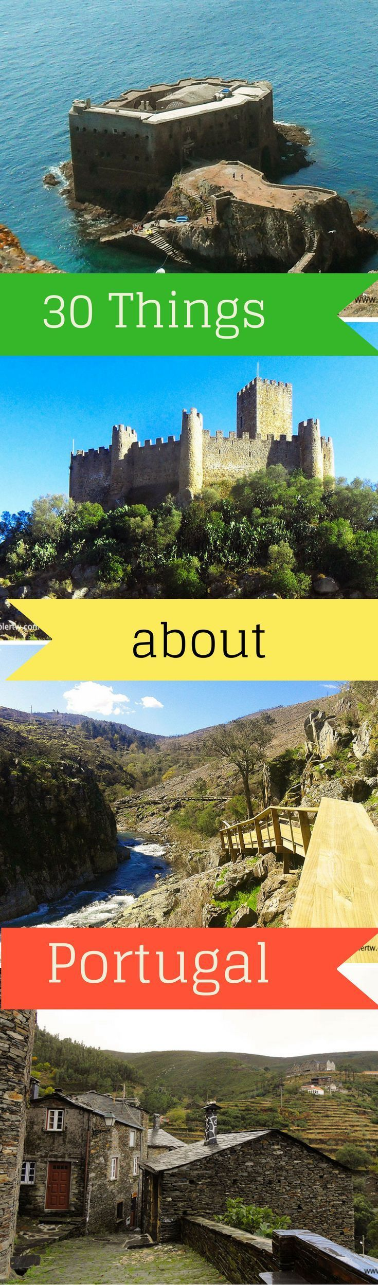 30 things you should know about Portugal. Travel in Europe.