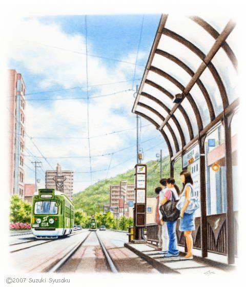 Sapporo Tram, Hokkaido, Japan 鈴木周作 [札幌市電]