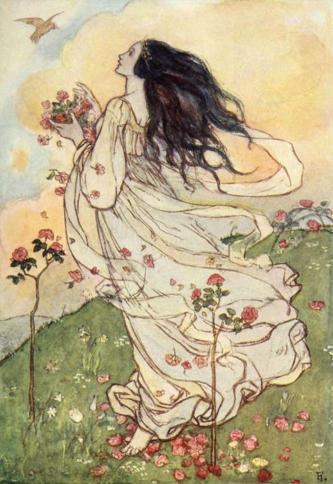 Emma Florence Harrison ~ A Birthday, The Poems of Christina Rossetti