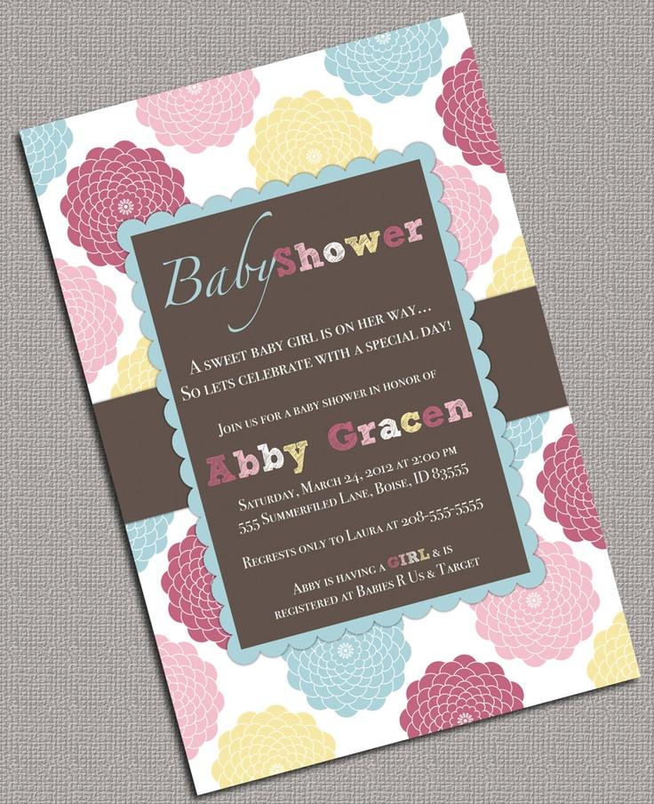 74 best Baby, Itu0027s Cold Outside images on Pinterest Birthdays - fresh birthday invitation baby girl